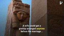 Prenups in Ancient Egypt Were Eight-Feet-Long