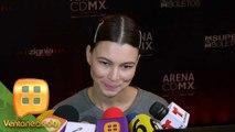 ¡SU CARA LO DICE TODO! Preguntamos a Natalia Subtil si Sergio Mayer Mori ya maduró.   Ventaneando