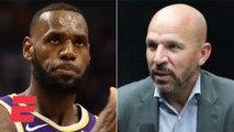 Jason Kidd talks about coaching LeBron James, Anthony Davis on the Lakers - NBA on ESPN