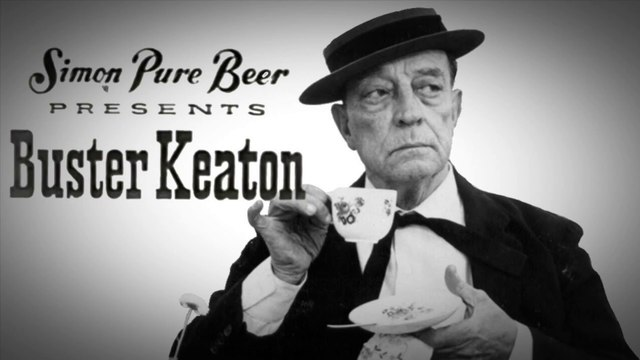 """Simon Pure Beer Presents Buster Keaton in """"The Chalkboard"""""""