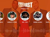 First Things First Audio Podcast -8.6.19- Cris Carter, Nick Wright, Jenna Wolfe - FIRST THINGS FIRST