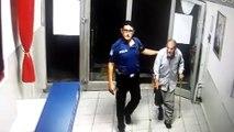 Yaşlı adama polis şefkati - KONYA