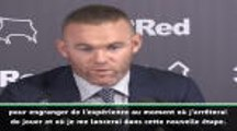 """Derby County - Rooney : """"Tout d'abord, je suis un joueur"""""""