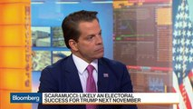 Scaramucci Says President Trump 'Can Dial Down the Rhetoric'