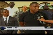 ORTM/Audience du président de l'équipe de basket, les Raptors de Toronto au Canada avec le Président de la république, IBK