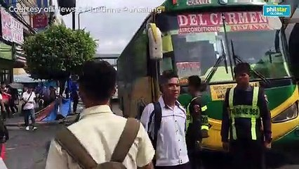 City buses unmoving amid implementation of 'Yellow lane' policy