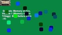 Genesis: Memory of Fire, Volume 1 (Memory of Fire Trilogy)  Best Sellers Rank : #3