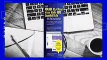Online Learn ASP.Net 4.5, C# and Visual Studio 2012 Essential Skills with the Smart Method  For