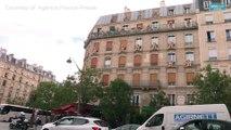 Giant teddy bears invade Paris neighborhood