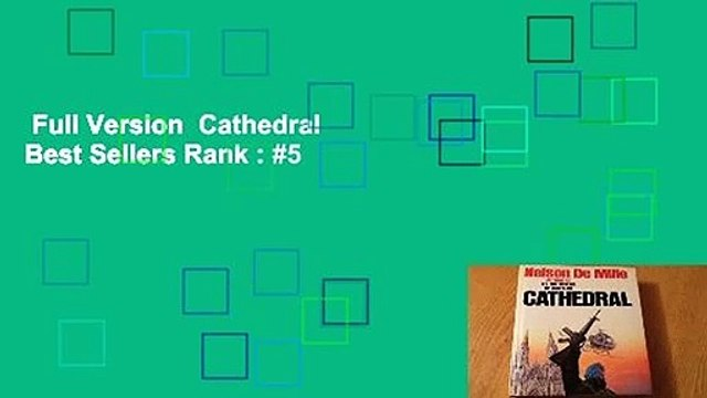 Full Version  Cathedral  Best Sellers Rank : #5