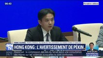 """Manifestants à Hong Kong: """"Ceux qui jouent avec le feu périront par le feu"""" affirme Pékin"""