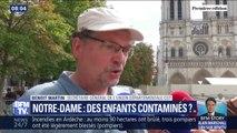 La pollution au plomb de Notre-Dame risque-t-elle de contaminer des enfants ?