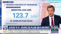 Il est tombé jusqu'à 51 jours de pluie en 6 heures dans la Haute-Loire ce mardi