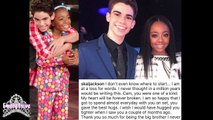 China Anne Mcclain cries over Cameron Boyce's passing