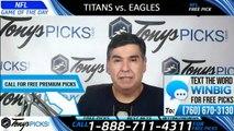 Titans vs Eagles NFL Pick 8/7/2019