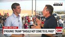 O'Rourke to Trump Don't come to El Paso