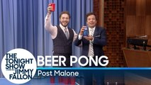 Beer Pong with Post Malone