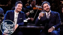 """Post Malone and Jimmy Sing """"Seven Drunken Nights"""""""