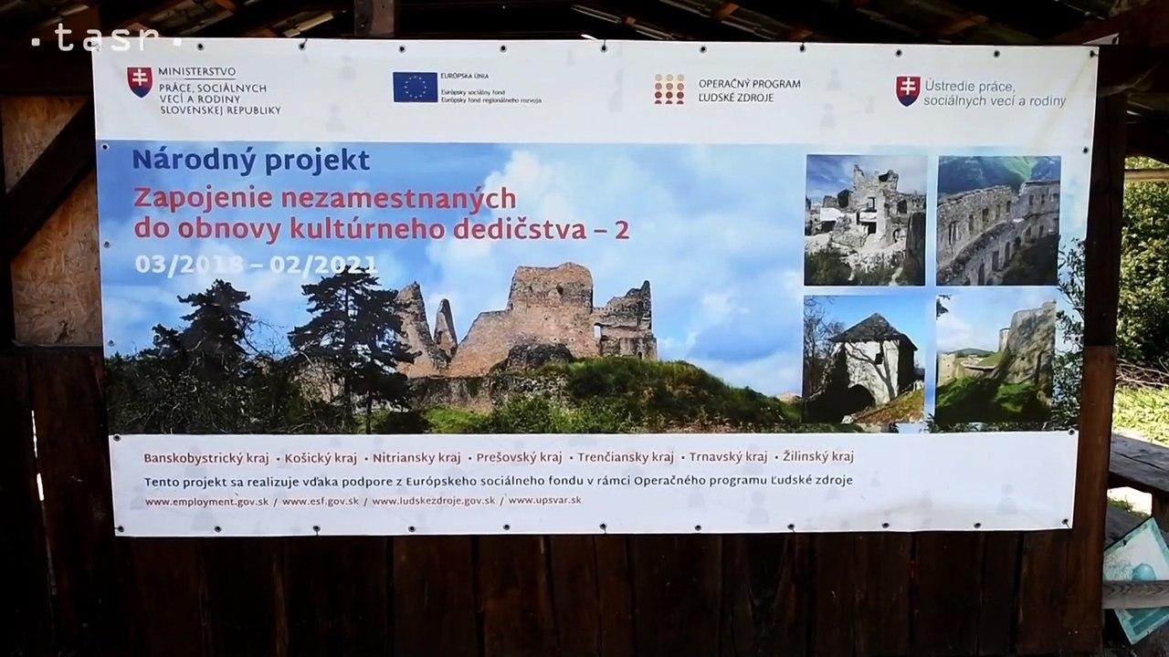 Hrad Plaveč: Nové objavy, šiesty rok obnovy