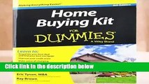 [READ] Home Buying Kit FD 6E (For Dummies)