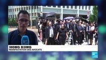 Hong Kong : Marche silencieuse des avocats pour l'indépendance du parquet