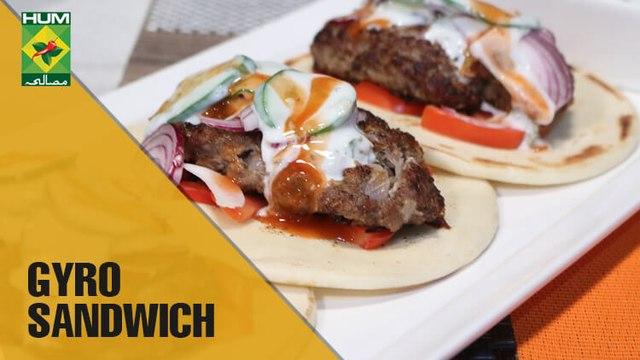 Homemade Gyro Sandwich | Mehboob's Kitchen | Masala TV Show | Mehboob Khan