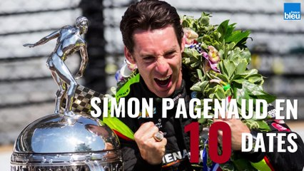 Le pilote automobile Simon Pagenaud en 10 dates