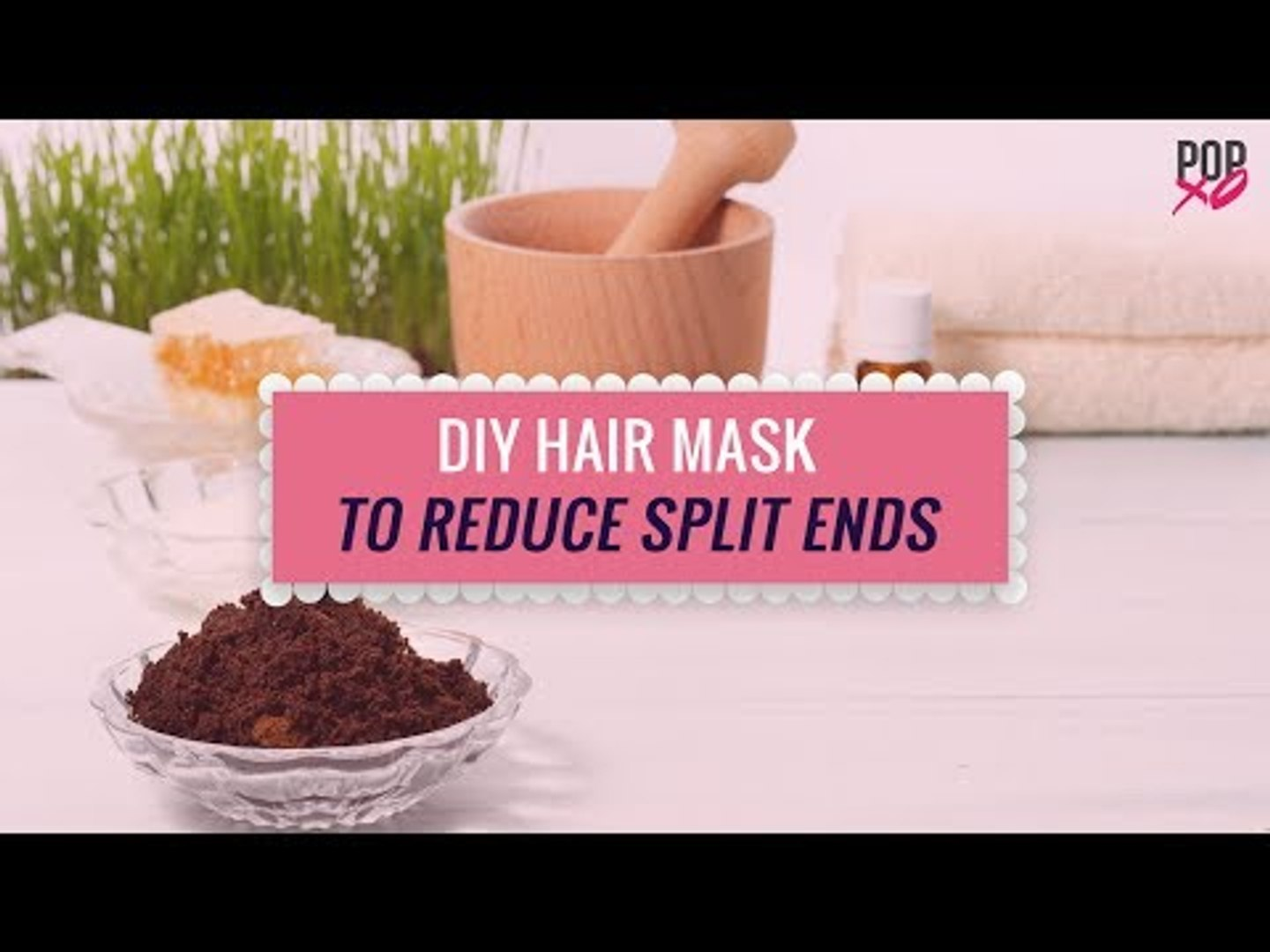 Diy Hair Mask To Reduce Split Ends Popxo