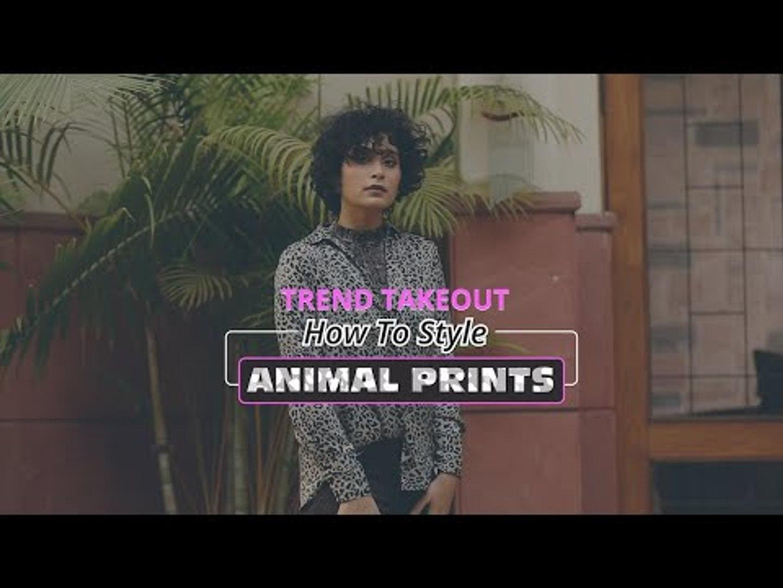 How To Style Animal Print - POPxo Fashion