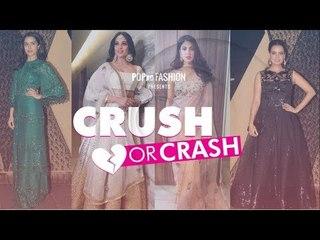 Crush Or Crash: Sakshi Bhatt's Wedding Reception - Episode 61 - POPxo Fashion