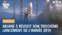 Ariane 5: Un nouveau lancement réussi