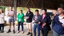 Sécheresse :  La Fédération nationale des syndicats d'exploitants agricoles  fait le tour des exploitations du Doubs pour prendre la température