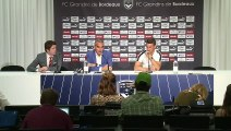 Koscielny is presented at FC Girondins de Bordeaux after his move from Arsenal