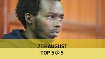 7th August, Top 5 @ 5