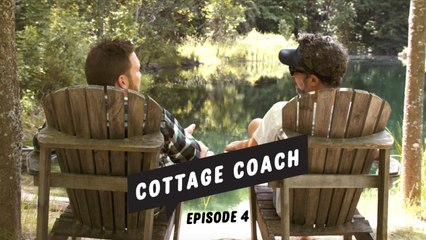 Cottage Coach Episode 4: Building a floating swim raft