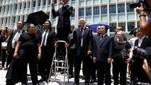 Hong Kong: des avocats défilent en silence pour dénoncer une justice aux ordres