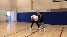 L'art d'imiter Carmelo Anthony à l'entraînement