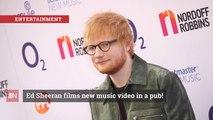 Ed Sheeran Takes His Music To The Pub