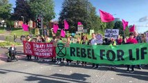 Extinction Rebellion Protests Cause Road Blocks!