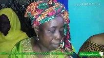 """La mère du Lt Sékou Condé parle : """" Je demande aux autorités de m'aider à retrouver le corps  de mon fils"""""""