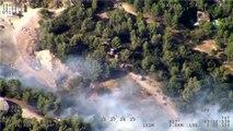 Provence: La surveillance des massifs se fait aussi par avion