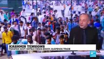 Kashmir protests analysis by FRANCE 24 International Affairs Correspondent Philip Turle