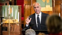 """Cory Booker calls out Trump's """"hateful"""" rhetoric, says it emboldens white supremacists"""
