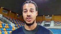 Le message de Gaylor Curier aux supporters de l'Orléans Loiret Basket