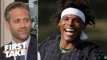 Cam Newton can be an MVP candidate this season if he stays healthy - Max Kellerman - First Take