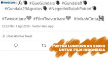 Emoji Twitter untuk Dua Film Indonesia