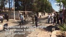 Syrie: attentat à la voiture piégée, cinq morts dont trois enfant