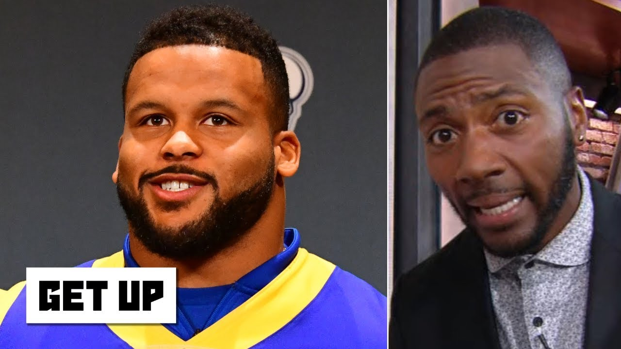 Aaron Donald will win MVP and Defensive Player of the Year – Ryan Clark's NFL predictions – Get Up