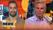Nick Wright: Big Ben - Antonio Brown should've 'made it work', defends Tom Brady - NFL - THE HERD