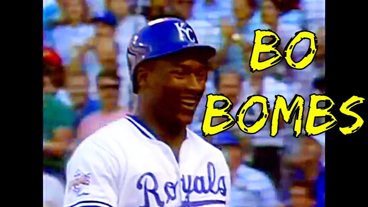 Bo Jackson hitting Bombs